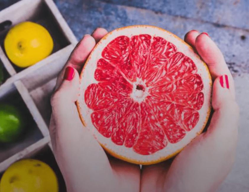 consumir pomelo rosado